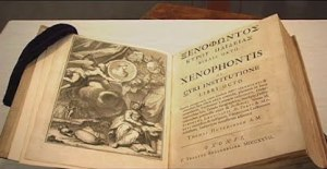 Thomas Jefferson's copy of the Cyropaedia